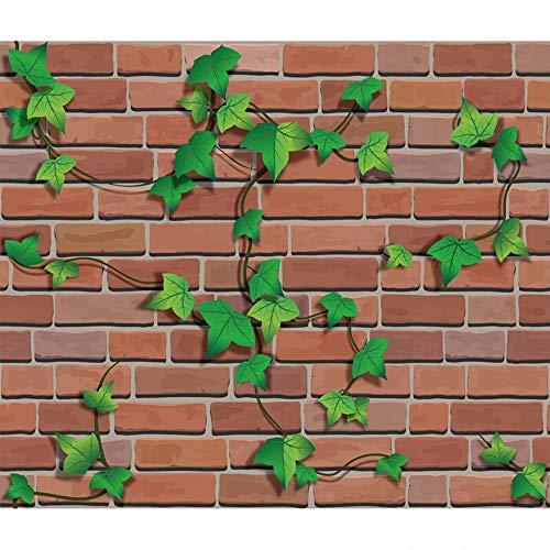 YYUE Paneles Decorativos Pared - Carta da Parati in Mattoni Contatto Carta da Parati Adesivi Murali con Stecche Adesive Adesivi per Porte Controsoffitti (45CM * 10M),C