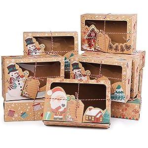 12pcs cajas de torta de