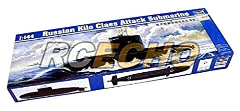 RCECHO® TRUMPETER Military Model 1/144 Russian Kilo Class Attack Submarine 05903 P5903 with RCECHO® Full Version Apps Edition