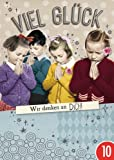 10er-Pack: Postkarte A6 +++ LUSTIG von modern times +++ WIR DENKEN AN DICH SILBER +++ BK.EDITION Pigment Productions Ltd
