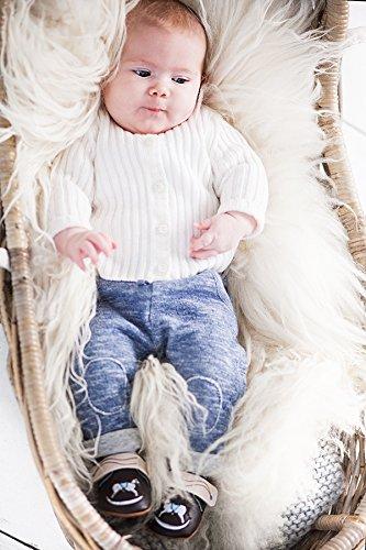 Rose & Chocolat RCM Rockabye Baby Jungen Lauflernschuhe Sneaker Braun (Brown)