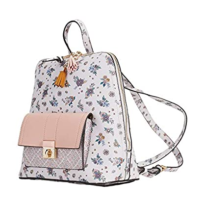 51W 3gS9YiL. SS416  - Parfois - Mochila Rose Efecto Floral - Mujeres