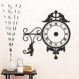 Bomeautify Kreativität Uhr Aufkleber PVC Wandaufkleber Wohnzimmer Hintergrund Wand Dekoration Aufkleber