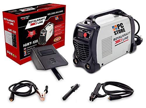 PC Store–Soldador a electrodo eléctrica Inverter igbt-300Soldadura 300A cerrajero Cable 2mt