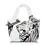 BG Berlin Roar Faltbeutel Eco Bag weiss