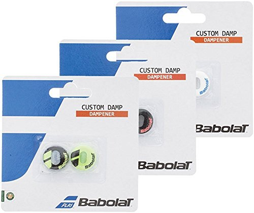 Babolat Schlägerzubehör Custom Damp 2er, 700040-142 (Babolat-schläger)