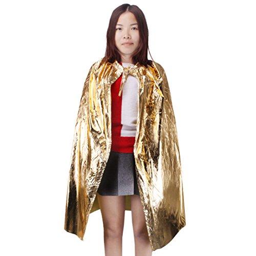 Andux Zone Kinder Cosplay Umhang Rolle Spiel Kostüm Halloween Party Cape ETPF-01 (Umhang Assistenten Kostüm)