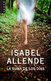 La suma de los días par Isabel Allende