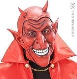 Masque belzebuth rouge
