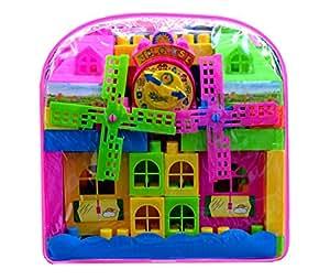 BEST SELLER PoshTots Kids High Quality Big Building Blocks 33 Pcs Set for Kids - Gift Toy
