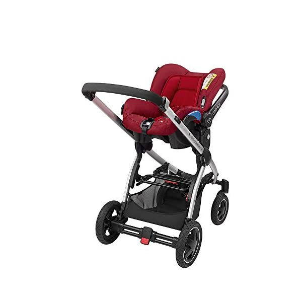 Maxi-Cosi Kinderautositz Citi Robin Red Maxi-Cosi Side protection system, guarantees optimal protection in the event of a side impact Lightweight, light weight and ergonomically shaped safety bar for use as carrying handle Practical travel system 6