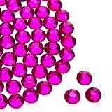 Diamante Me Rose Vif Hotfix/Fer Sur/strass à dos plat Taille 3 mm Qualité AA