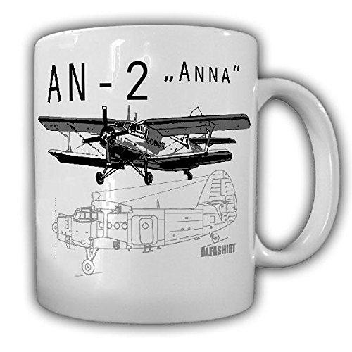 AN-2 Russischer Doppeldecker Flugzeug Anna Traktor der Lüfte Anto-nov Oldtimer Tasse Becher #19962