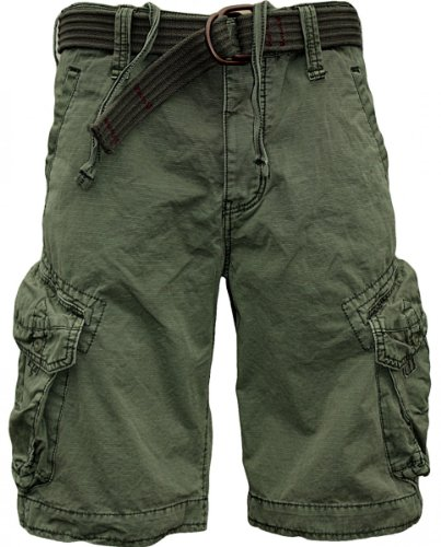 JET LAG Cargo Shorts Take off 3 in schwarz, oliv, charcoal, cement oder gold Oliv