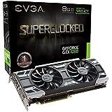 EVGA GeForce GTX 1080SC Gaming mit ACX 3.0Kühlung 8GB GDDR5X PCI Express 3Grafikkarte–Schwarz