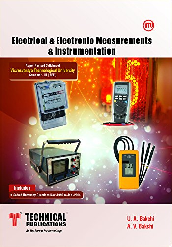 Electrical and Electronic Measurements And Instrumentation for VTU
