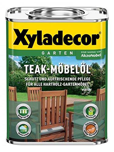 Xyladecor - Aceite para madera de teca, distintos colores y tamaños de...