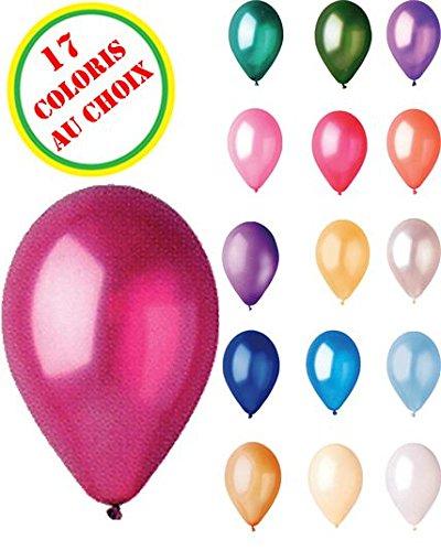 Sachet De 50 Ballons Nacres Lavande Diam 30Cm-Circonf 85Cm- 63