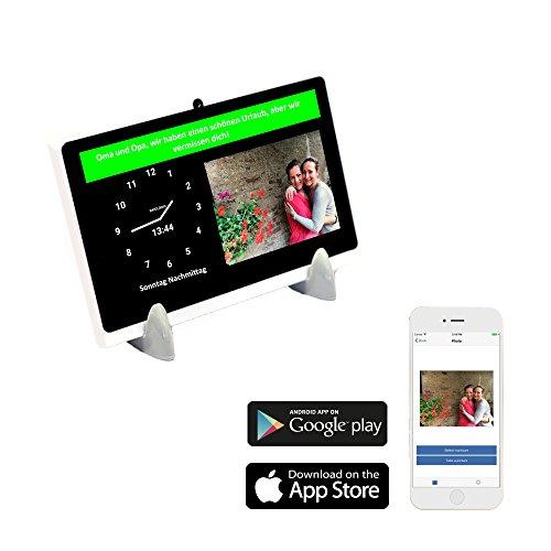 DayClocks Seniorenuhr 7″ inkl. Kalender & Nachrichten- & Foto-Funktion (6 Monate gratis) - Digitale Uhr, Kalender & Tablet für Senioren & Demenzkranke (z.B Alzheimer) mit...
