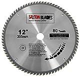 TCT30580TLame TCT pour scie circulaire à bois 305 x alésage 30 mm x 80 dents...