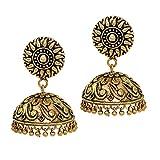 Jaipur Mart Handmade Oxidised Gold Plate...