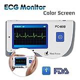 Heal Force Überwachung Herz Monitor Gesundheitspfleger Ekg Gerät Mit Software Patienten Monitor PC-80B