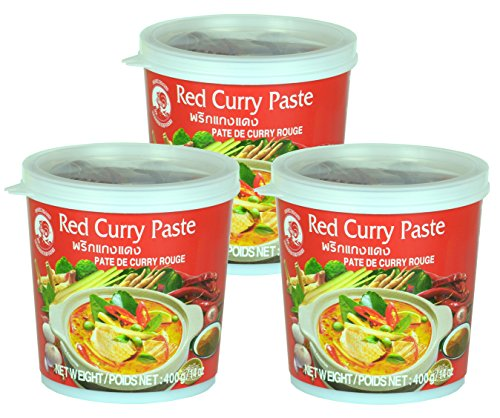 Cock - Rote Currypaste - 3er-Pack (3 x 400g)