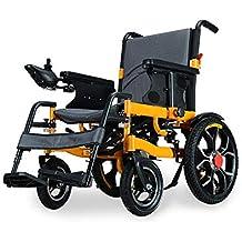 Silla de Ruedas Silla de Ruedas, discapacitado Anciano Scooter eléctrico de Cuatro Ruedas con Silla