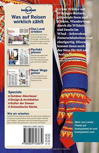 Lonely Planet Reiseführer Schweden (Lonely Planet Reiseführer Deutsch): Alle Infos bei Amazon