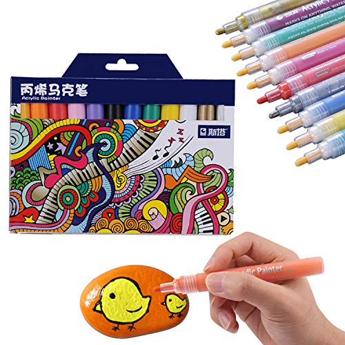 Susie Su Su - Rotuladores acrílicos 12 Colores