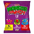 Walkers Monster Munch Variety Snacks, 22 g (Pack of 12) : everything £5 (or less!)