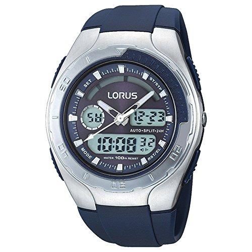 Lorus R2391GX9 - Orologio da polso da uomo, cinturino in resina