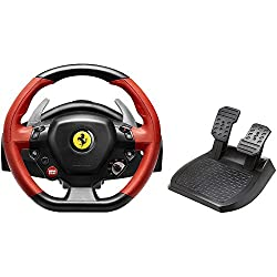 Thrustmaster: Racing Wheel for Xbox One - VG Ferrari 458 Spider Edition (Red & Black)
