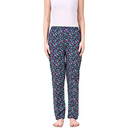 Masha Women's Cotton Printed Multicolor Pyjama