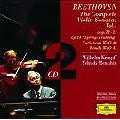 Beethoven: The Complete Violin Sonatas Vol.I