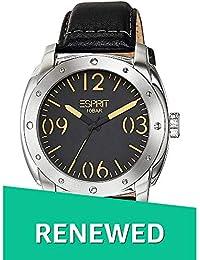 aa57465ead32a (Renewed) Esprit Analog Black Dial Mens Watch - ES106381001 CR