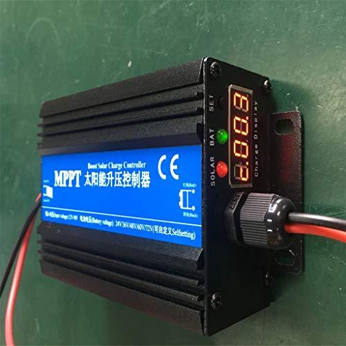 D DOLITY MPPT Regler Solarladeregler Laderegler mit LED Anzeigen 24V 36V 48V 60V 72V - 36v Solar Charge Controller