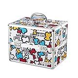 CQ Karikatur-Nette Medizin-Kasten-Ausgangsmedizinischer Kasten mehrschichtige komplette kleine Mini-Kasten-Baby-Kind-Baby-Medizin-Kasten (Color : White)
