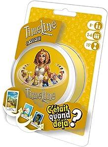 Asmodee Timeline Classic Learning Card Game - Juegos de Cartas (8 año(s), Learning Card Game, Niños, 14 min, 55 Pieza(s))