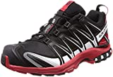 Salomon Xa Pro 3d Gtx, shoes homme - Noir (Black/Barbados Cherry/White), 41 1/3 EU (7.5 UK)