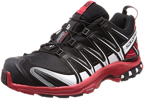 Salomon XA Pro 3D GTX Black Barbados Cherry White 42.5 (Pro Schuh Xa Salomon)