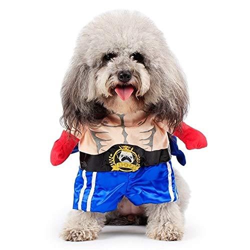 Girl Cute Kostüm Katze - Lustiger Hund Katze Kostüme Boxer Cosplay Anzug Haustierkleidung Halloween Weihnachten Uniform Kleidung Für Welpen Hunde Kostüm für eine Katze M Boxer