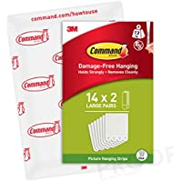 Command Large White Picture Hanging Strips PH206-14EU