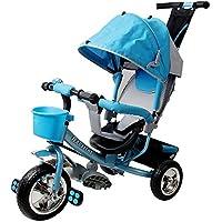 Kiddo Trike Kids Tricycle Children 3 Wheeler - Blue Pink Outdoor Bike