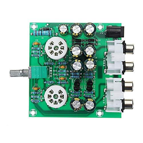 YRW ONDER Modulo può Regolare Il Volume di Uscita AC 12V 1A 6J1 Modulo Pre-Amplificatore for preamplificatore for preamplificatore Cuffie Bile Buffer Stereo Bass HiFi X10-D