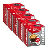Lavazza A Modo Mio Qualita Rossa 16 Coffee Capsules (Pack of 5)