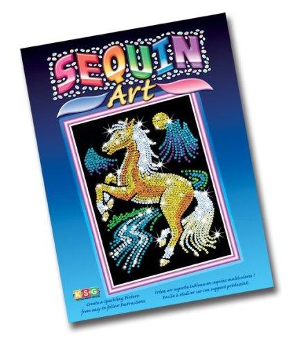 Sequin Art, Golden Stallion
