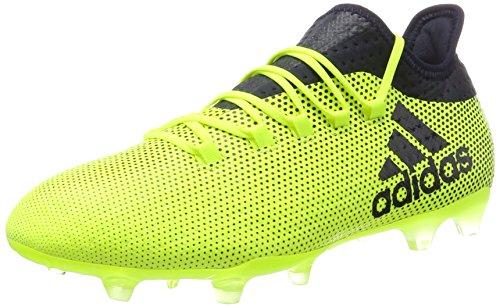 adidas Herren X 17.2 FG Fußballschuhe, Mehrfarbig (Solar Yellow/Legend Ink F17/Legend Ink F17), 43 1/3 EU