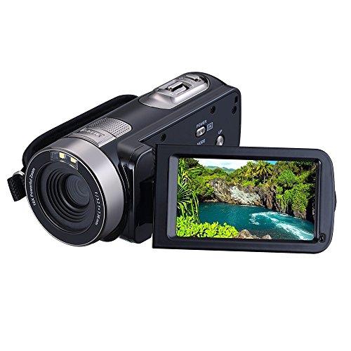 stoga-st301p-digital-compact-video-camera-cmos-30-mega-pixels-16x-digital-zoom-black