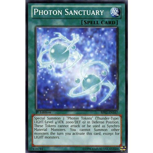 YuGiOh : BP02-EN167 1st Ed Photon Sanctuary Mosaic Rare Card - ( War of the Giants Battle Pack Yu-Gi-Oh! Single Card )
